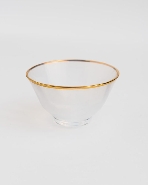 Hand-Made Crystal Gold-Lined Opaque