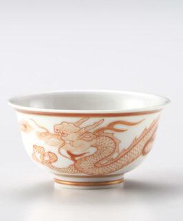 Kutani Akae Saibyou Dragon