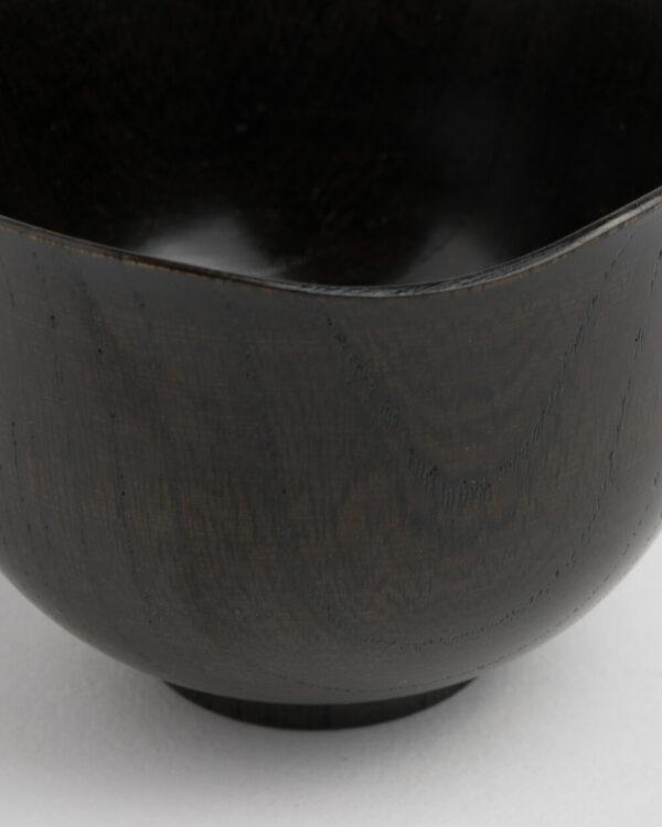 Zelkova Yamanaka Lacquered Black Blossom